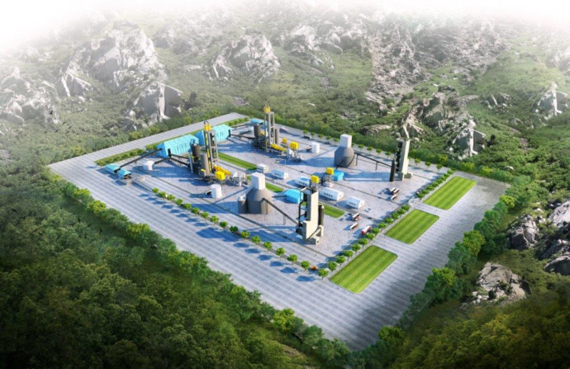 Artistic Impression of Moroto Ateker Cement Plant